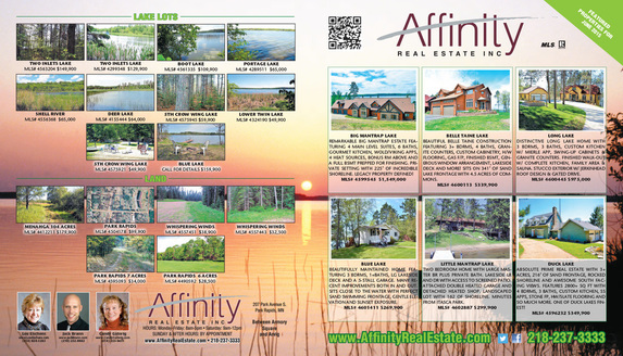 Affinity Real Estate We-Prints Plus Newspaper Insert
