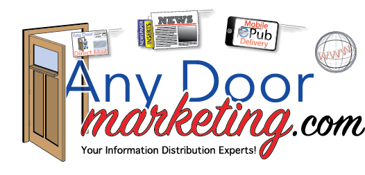 print and mail, direct mail printing, Any Door Marketing, print and mail experts
